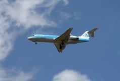 KLM Cityhopper Fokker 70 Stock Image