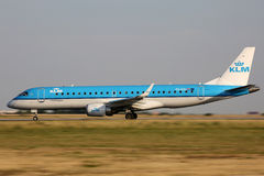 KLM Cityhopper Stock Images