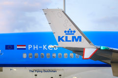 KLM detail Stock Photography