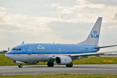 KLM plane Stock Images