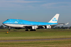 KLM Royal Dutch Airlines Boeing B747 Stock Image