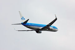 KLM Royal Dutch Airlines Boeing 737 Royalty Free Stock Images