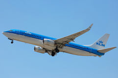 KLM Royal Dutch Airlines Boeing 737 Stock Images