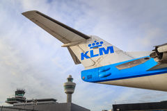 KLM and Schiphol Stock Images