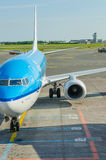 KLM surfacent Photo stock