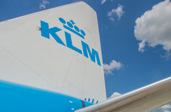 KLM Royalty Free Stock Photo