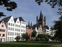 Köln-Ansicht Stockfotografie
