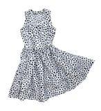 Klänningen med polka pricker Royaltyfri Fotografi