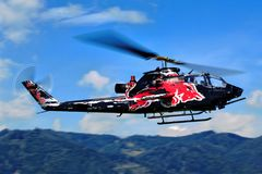 Klocka AH-1S KOBRA Arkivbilder