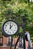 Klocka av Valladolid arkivbild