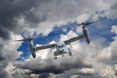 Klocka Boeing V-22 fiskgjuse Fotografering för Bildbyråer