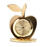 Klocka för Apple stiltabell Royaltyfria Bilder