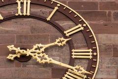 Klocka för Basler MÃ ¼nster Royaltyfria Bilder