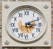 Klocka för Klocka torn Fotografering för Bildbyråer