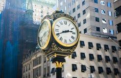 Klocka för trumftornet, New York Arkivbilder