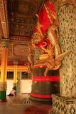 Klocka för konung Thayawady, Shwedagon pagodkomplex, Yangon, Myanmar Arkivbild