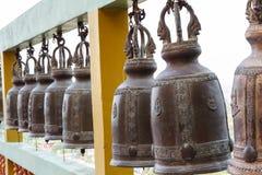 Klocka i tempel arkivbilder