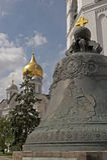 klocka moscow tsar russia Arkivfoton