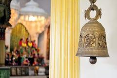 Klocka ny Gokula tempel Royaltyfri Foto
