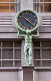 klocka nytt s tiffany york Arkivfoto
