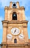 Klocka- och klockatornet av St John 's-Co-domkyrka Valletta, Fotografering för Bildbyråer
