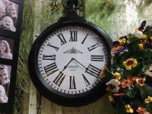 Klocka och tid Royaltyfria Foton