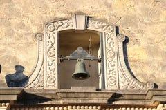 Klocka på Alamoen, San Antonio Royaltyfri Bild