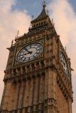 Klocka på Big Ben, London Arkivfoto