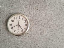 Klocka på väggen Royaltyfri Fotografi