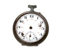 klocka skadlig gammalt Arkivbild