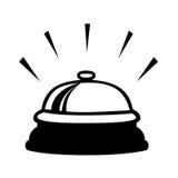Klocka symbol Arkivfoton