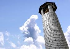 Klocka torn Arkivbild