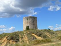 Klocka-torn Arkivbild