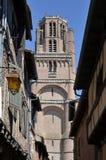Klocka torn av Albi i Frankrike Fotografering för Bildbyråer