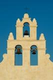Klocka torn av beskickningen San Juan Royaltyfria Foton