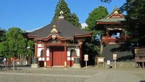 Klocka torn av den Naritasan Shinshoji templet i Japan Royaltyfria Bilder