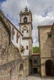 Klocka torn av den Santa Clara kloster i Amarante arkivbild