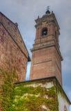 Klocka torn av duomoen, Monza, Lombardy, Italien Arkivbild