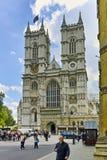 Klocka torn av kyrkan av St Peter på Westminster, London, England, Storbritannien Royaltyfria Foton