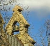 Klocka torn av landskyrkan Fotografering för Bildbyråer