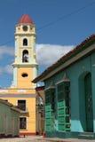 Klocka torn av San Francisco Monastery Royaltyfri Fotografi