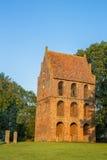 Klocka torn av Sankten Petri Church i Westerstede fotografering för bildbyråer