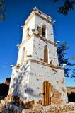 Klocka torn av Toconao royaltyfri bild