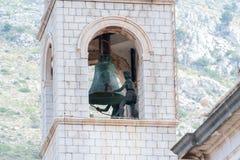 Klocka torn, Dubrovnik Royaltyfria Bilder