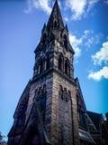 Klocka torn i Edinburg Fotografering för Bildbyråer