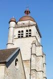 Klocka torn i Poligny Royaltyfri Foto