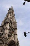 Klocka torn - kyrka av Sacré-Coeur - Lille - Frankrike Arkivbild