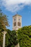 Klocka torn, kyrka av St Joseph Royaltyfri Foto