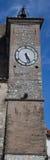 Klocka torn med klockan Arkivbild