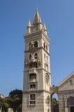 Klocka torn och Astronmical klocka i Messina Arkivfoto